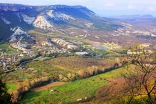 Free Crimea Landscape On Beautiful Mountains Stock Photos - 13668703