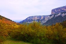 Free Crimea Landscape On Beautiful Mountains Royalty Free Stock Photo - 13668815