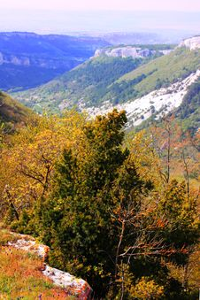Free Crimea Landscape On Beautiful Mountains Stock Photo - 13668890