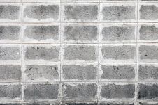 Free Grey Brick Wall Texture & Background Royalty Free Stock Images - 13668959
