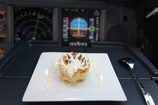 Free Apple Pie In Cockpit Royalty Free Stock Image - 13669766