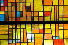Free Yellow, Stained Glass, Glass, Window Stock Photo - 136625320