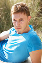 Free Portrait Of Young Man On Beach Stock Photo - 13673580