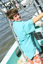 Free Young Boy On A Boat Stock Images - 13674904