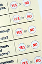 Free Select Yes Or No Stock Images - 13679664