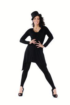 Free Female Dancer Royalty Free Stock Photos - 13670598