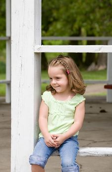 Free Little Girl Stock Photos - 13670833
