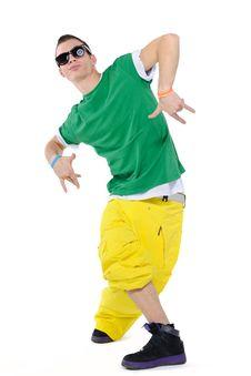 Free Dancing Man Stock Photography - 13670882