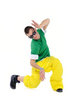 Male Breakdancer Stock Photography