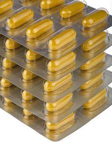 Free Packs Of Pills Royalty Free Stock Photos - 13671438