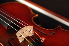 Free Violin Detail Stock Images - 13671584