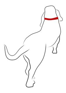 Free Walking Basset Hound From The Rear View Royalty Free Stock Photos - 13671748