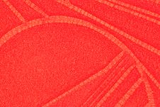 Free Red Patterned Leather Royalty Free Stock Photo - 13672005