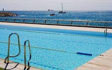 Free Swimming Pool. Royalty Free Stock Photos - 13672008