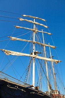 Free Mast With Sails Stock Photos - 13672463