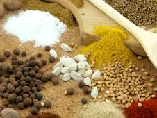 Free Spices Royalty Free Stock Photography - 13672787