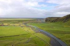 Free Skogarfoss Plain, Iceland. Royalty Free Stock Photography - 13673017