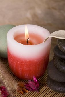 Free Spa Candle Stock Photos - 13673333