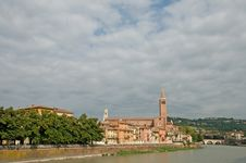 Free Verona By The River Royalty Free Stock Photos - 13673388