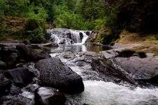 Sweet Creek Falls Royalty Free Stock Photography