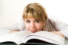 Free Young Student With A Book Stock Images - 13673764