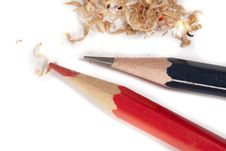 Free Pencil And Shavings Stock Photos - 13673873