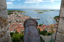 Free Spectacular View Of The Old Town Of Hvar, Croatia Royalty Free Stock Photo - 13673955