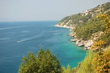 Free Picturesque Scenic View Of Adriatic Beach In Pisak Stock Photography - 13674212