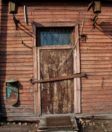 Free Old Wooden Door Stock Photos - 13674553