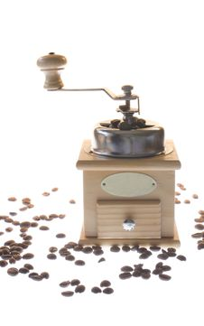 Free Coffee Mill Royalty Free Stock Image - 13674826