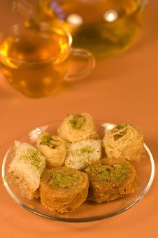 Free Baklava Royalty Free Stock Photo - 13674845