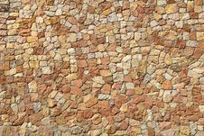 Free Wall Of Stones Royalty Free Stock Image - 13674876