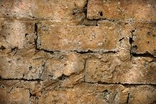 Free Rough Brick Wall Royalty Free Stock Photo - 13675035