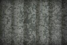 Corrugated Galvanized Zinc Plate Stock Photography