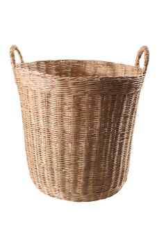 Free Woodbasket , The Wickerwork From Thailand Stock Photo - 13675740