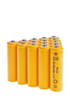 Free Rechargeable AA Size Accumulators. Royalty Free Stock Photo - 13676085