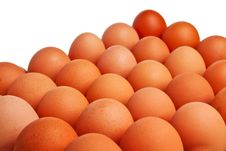 Free Brown Eggs. Royalty Free Stock Image - 13676196