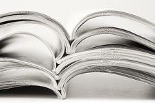 Free Stack Of Magazines Stock Photo - 13676290
