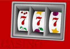 Free Illustration Of A Casino Machine Stock Image - 13676641