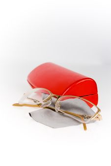 Free Glasses Royalty Free Stock Photo - 13677465