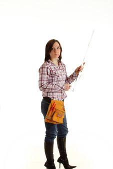 Free Female Architect Stock Photo - 13677670