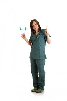 Free Female Doctor Stock Photography - 13678342