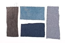 Free Jeans  Materials  Part Royalty Free Stock Images - 13678689