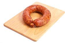Free Smoked Sausage Stock Photo - 13678750