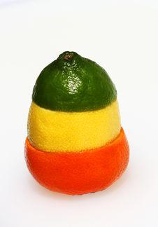 Free Traffic Light Citrus Fruit Combination Royalty Free Stock Image - 13678916
