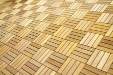 Wood Flooring Royalty Free Stock Image
