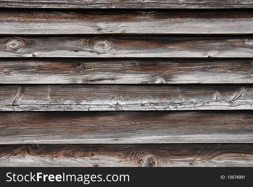 Weathered Plank Background