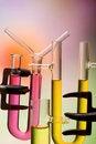 Free Tubes And Weighing Bottles Stock Image - 13682401