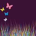 Free Background Design With Butterfly. Royalty Free Stock Image - 13689706