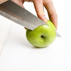 Apple Sliced Royalty Free Stock Photography